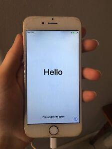 Gold iPhone 6 64 gig