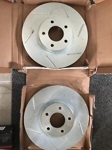 Slotted Rotors and Pads Mazdaspeed3