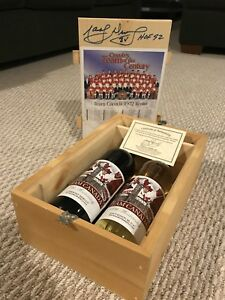 1972 Collector Wine Set - Autographed by Marcel Dionne!!