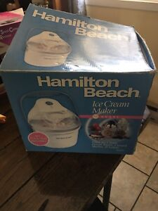 Hamilton Beach Ice Cream