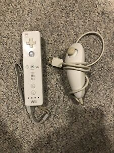 Wii Remote and Nunchuck