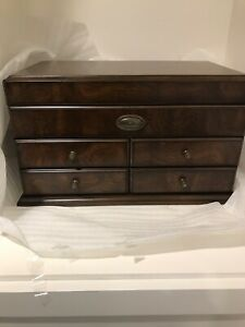 Wooden mahogany box brand new