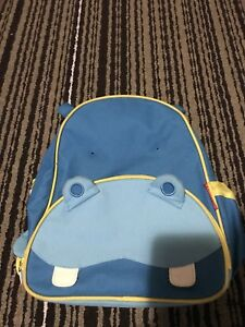 Skip Hop Hippo Toddler Bag Kids Bag - like new - very clean
