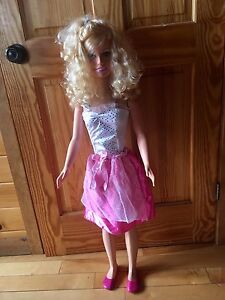 3.5 ft tall Barbie doll