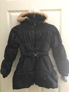 Winter jacket girls size 7/8