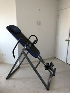 Selling inversion table good for back pain new