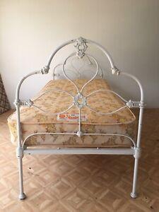 $50 Victorian Iron Single Bed