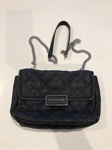 Marc Jacobs Leather Quilted Bag As New