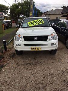 Holden rodeo 2006 model automatic  dual cab Granville Parramatta Area Preview