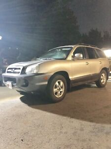 2006 Hyundai Santa Fe 4 cylinder great on gas with lots of room