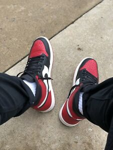 "STEAL Air Jordan 1 Retro ""Bred Toe"""