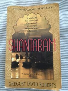 Shantaram the book by Gregory David Roberts