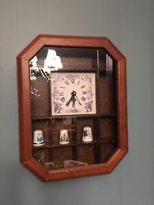 Wood display caninet