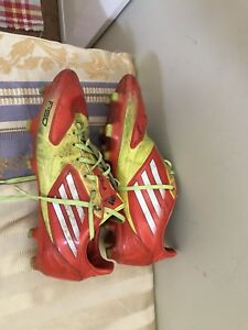 Men's Adidas F50 soccer shoes - size 9