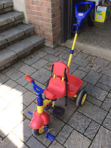 Tricycle trois en un Little Tikes