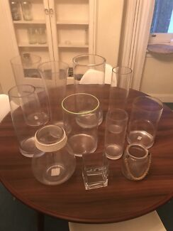 11x florist vases. Very expensive and all in perfect condition