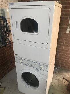 Speedqueen commercial stacked washer dryer