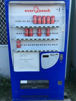 Everquench drink vending machine!