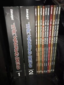 Walking dead comic books 1-26