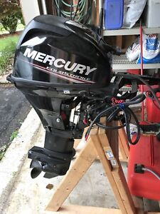 Outboard motor electric start 15 hp 4 stroke