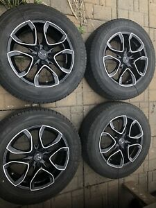 "NEGO MAZDA CX5  black 17"" mags and 225 65 17 8/32 tires 5x114.3"