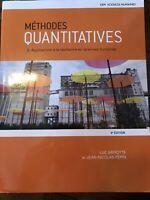 Méthode quantitative et Excel