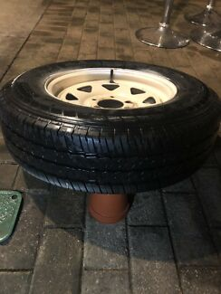 """New 14"""" Trailer tyre & rim St Agnes Tea Tree Gully Area Preview"""