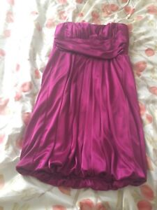 Coctail dress - dark pink - small size