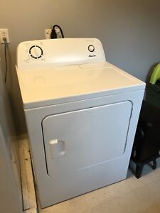 Amana dryer( 5 months old) and LG washer ( 10 years old)
