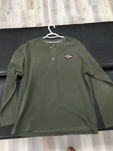 Harley Davidson Button down shirts and sweaters