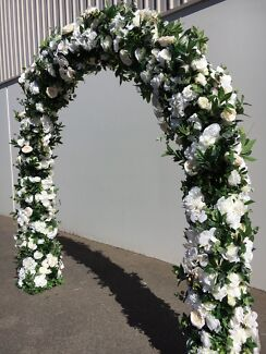 Flower arch for hire other wedding parties gumtree australia wedding arch arbour hire junglespirit Gallery