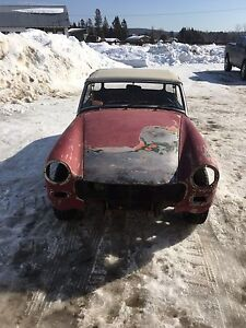 1973 MG Midget Restoration Project