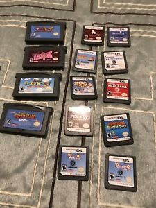 Nintendo DS games.