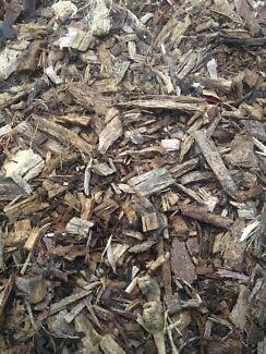 Wood chips, Mulch
