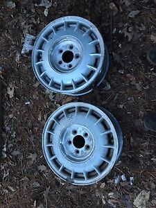 GM rims 15$obo need gone this week
