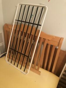 Baby Crib  2 in one bedroom set turn into double bed!