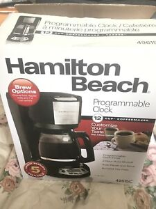 Fairly unused coffee machine- pick up for just  15$