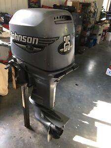 2000 Johnson 25 hp