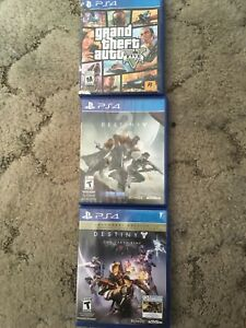 Selling 3 ps4 games