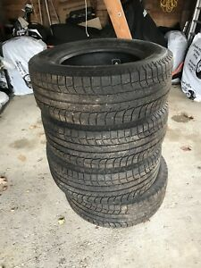 "265-65-17"" Michelin Winter tires"
