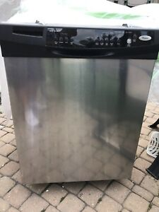 Whirlpool dishwasher stainless steel