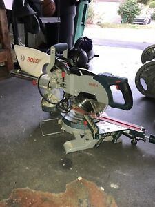 "Bosch 8.5"" Sliding Compound Mitre Saw"