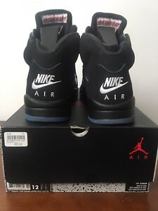 Jordan 5 Retro Black Metallic 2016