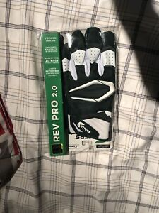 Green Football Receiver Gloves