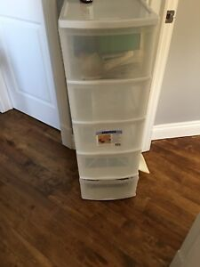 Plastic drawers for sale