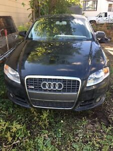 2008 Audi A4 2.0 - PARTS ONLY Unrepairable