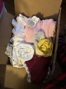 Different variety of baby newborn clothes