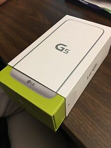 LG G5 (32G, new, sealed in box), free accessories!