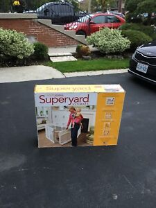 North States super yard - baby play yard + extension
