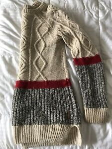 Roots Chunky Knit Cabin Sweater